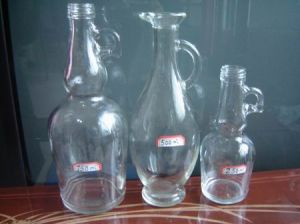 Glass Bottle with Handle (VJ-005)