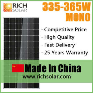 350W High Quality Photovoltaic PV Monocrystalline Solar Module Solar Panel pictures & photos