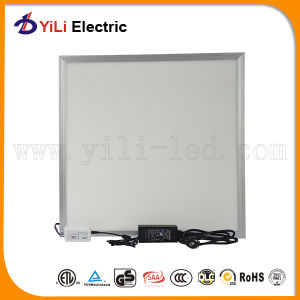 Slim Ceiling White Aluminum 130lm/W 600*600mm LED Panel
