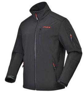 Custom Men′s Outdoor Windproof Softshell Jacket pictures & photos