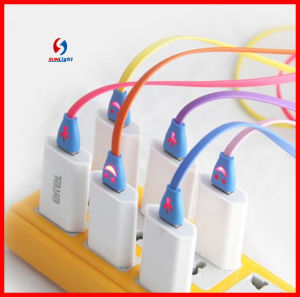 Colourful Mobile USB Lighting Cable Charging pictures & photos