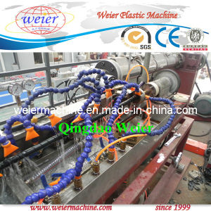 Designed for Italy PP PE Spiral Wrapping Band Production Line pictures & photos