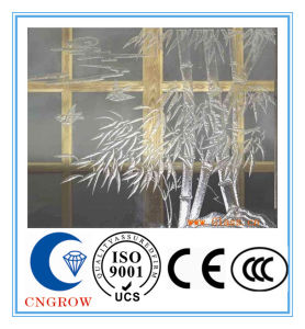 3-19mm Clear Frosted Glass Fence Panels Made in China with CCC/ISO9001/CE