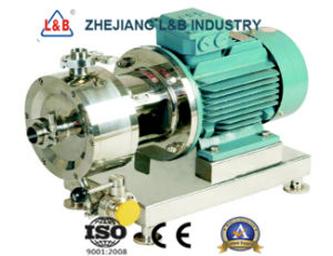 Syrup Homogenizing Machine High Shear Emulsifier Emulsion Pump pictures & photos