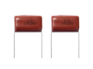 Metallized Polyester Film Capacitor Cl21 Mef