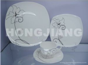 Bone China Dinner Set (HJ068001) pictures & photos