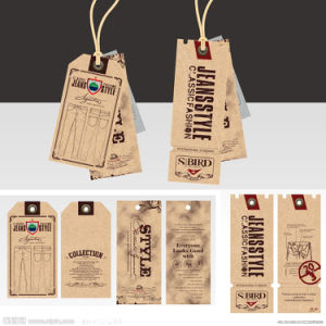 Brown Kraft Paper Hang Tags pictures & photos