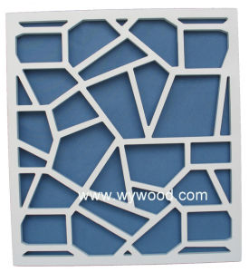 MDF Wooden Carved Grille Decorative Panel (WY-43) pictures & photos