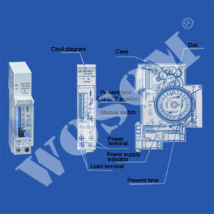 Time Switch (24 Hour Analogue Time Switch) (WS-SUL180A)