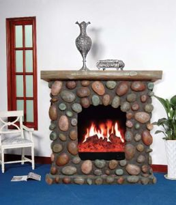 Marble Electric Fireplace (014) pictures & photos