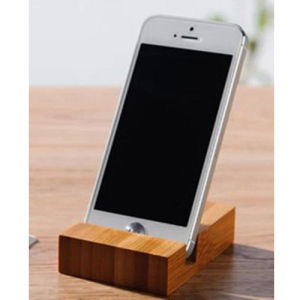 Waterproof Bamboo Mobile Phone Stand Holder for iPhone 5s pictures & photos