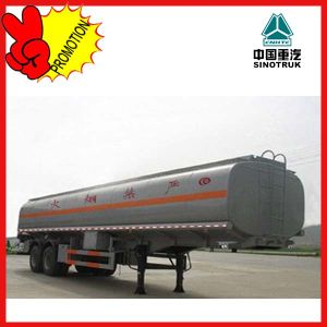 Low Price Sinotruk 60cbm Oil Tank Trailer Truck