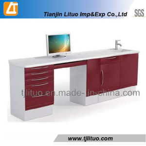 Red Color Dental Cabinets/ Metal Dental Cabinets pictures & photos