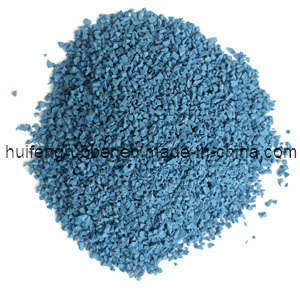 Blue EPDM Rubber Granules