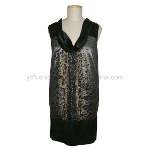 Ladies Silk Chiffon Dress