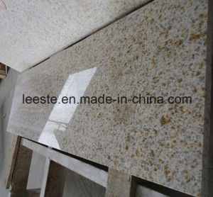 Polished G682 Yellow Rusty Granite Stairs Tile pictures & photos