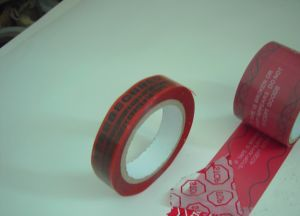 Tamper Evidence Adhesive Security Tape