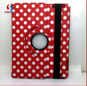 Factory Wholesale 360 Roate Polka DOT Case for iPad pictures & photos