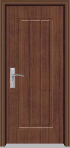 PVC Wooden Door (YF-M35) pictures & photos