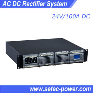 24V 100A AC-DC Rectifier Power Supply with LCD Display (SET24100) pictures & photos