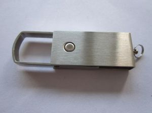 1-32GB High Speed Swivel Metal USB Flash Drive (OM-M116) pictures & photos