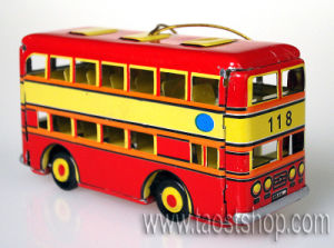 Double Decker Bus Ornament (TTO04)