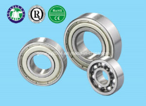 Deep Groove Ball Bearing (6201 ZZ RS OPEN) pictures & photos