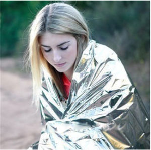 Earthquake Emergency Both Silver Survival Blanket pictures & photos