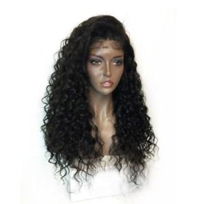 Malaysian Virgin Human Hair Full Lace Wigs pictures & photos