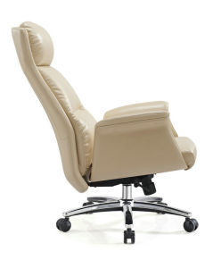 Comfortable Large Comfy Office Chair Reclining Leather Office Chair, Large Executive Office Chair, Pink Leather Office Chair pictures & photos