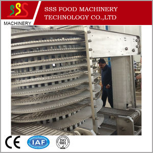 Ce Industrial Quick Freezing Single Spiral Freezer pictures & photos