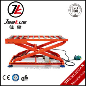 2017 Hot Sale Jeakue Immovable Electric Lift Table with Roller pictures & photos