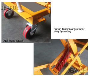 High Quality Spring Activated Lift Table pictures & photos