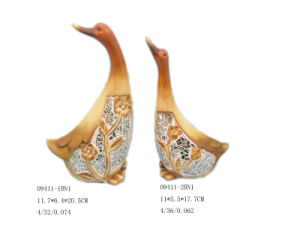 Home Decoration Dolomite Duck Figurine (D8- 010064-2)