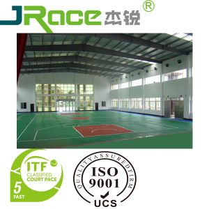 Basketball /Volleyball/ Tennis/ Badminton Acrylic Court Surface Sport Flooring pictures & photos