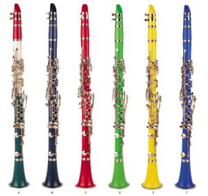 12 Colors 17 Keys ABS Clarinet (CL-501) pictures & photos