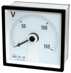 96 240° Moving Instrument DC Voltmeter pictures & photos