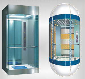 Glass Home Elevator