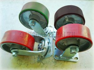"5"" Heavy Duty Swivel Caster for Panel Mover Carts pictures & photos"