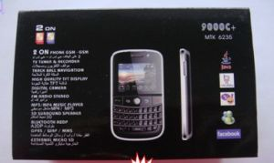 WiFi Mobile Phone Qwerty Keyboard 9000c+