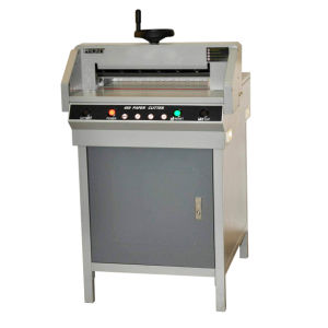 Precise Paper Cutting Machine (G450D) pictures & photos