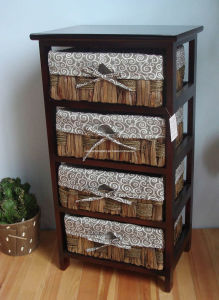 Wooden Drawer Cabinet (RF101544)