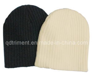 100% Acrylic Plain Sport Winter Warm Knitted Beanie Hat (TRK024) pictures & photos