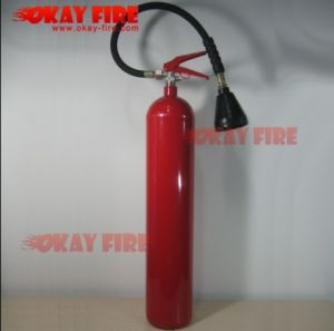 Okay Fire 5kg CE CO2 Fire Extinguisher (Alloy-steel) (CE-AS5)