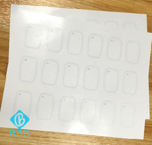 Customized Layout RFID Chip T5577 PVC Inlay for Card