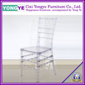 Resin Tiffany Chair (Clear E-001) pictures & photos