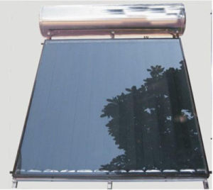Solar Energy Flat Panel Solar Heater with CE pictures & photos