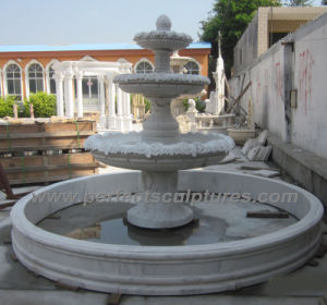Marble Water Fountain for Stone Garden Fountain (SY-F342) pictures & photos