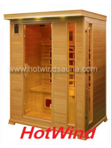 2016 Far Infrared Sauna Room Portable Wood Sauna for 3 People (SEK-DP3) pictures & photos