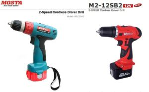 Two Speed Cordless Driver Drill (6012DVD/M2-12SB2 (60II & M2 Series))